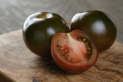 Ripe kumato tomatoes Royalty Free Stock Images