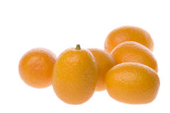 Ripe kumquats Stock Images