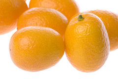Ripe kumquats Stock Photography
