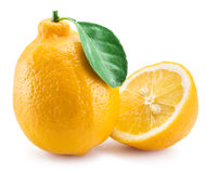 Ripe lemon fruits. Royalty Free Stock Photography