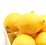 Ripe lemon Stock Images