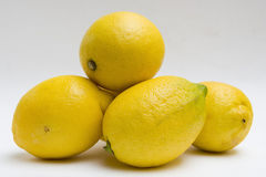 Ripe Lemons Stock Images