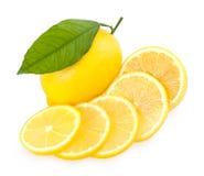 Ripe lemons Stock Photography