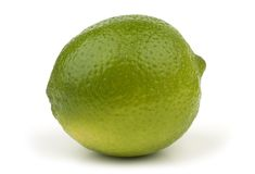 Ripe Lime. Closeup image of a ripe lime stock images