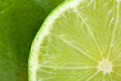 Ripe lime closeup Royalty Free Stock Photography