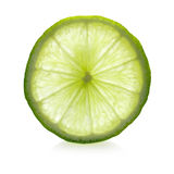 Ripe lime slice stock images