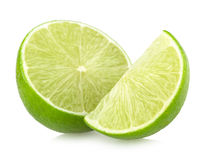 Ripe lime slices Royalty Free Stock Photo