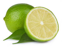 Ripe lime  Stock Photography