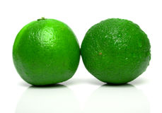 Ripe limes 2 Stock Photography