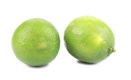 Ripe limes. Stock Photography