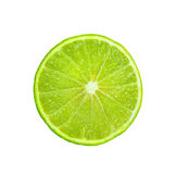 Ripe limes  Isolated on white background. Ripe limes Isolated on white background as package design element Royalty Free Stock Image
