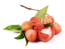 Ripe litchi fruit Stock Image