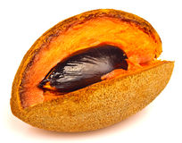 Ripe mamey fruit Royalty Free Stock Photography