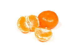 Ripe mandarine fruit Royalty Free Stock Photo
