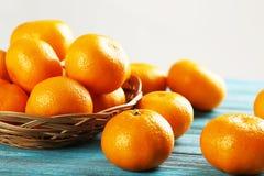 Ripe mandarins Stock Image
