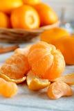 Ripe mandarins Stock Photo