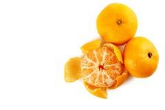 Ripe mandarins Stock Photos