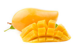 Ripe mango fruit Stock Photography
