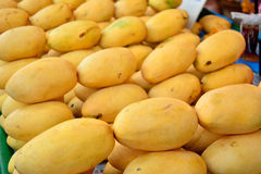 Ripe Mangoes for sale Stock Photo