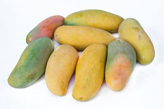 The ripe mangoes Royalty Free Stock Photo