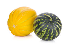 Ripe melon and watermelon Stock Image