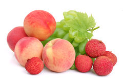Ripe mix of fruit Royalty Free Stock Images