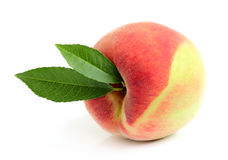 Ripe Moldavian peach. Royalty Free Stock Photography