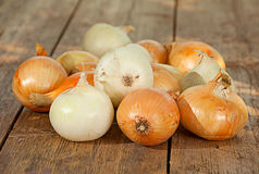 Ripe onion vegetable Royalty Free Stock Images