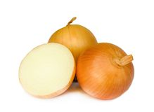 Ripe onion . Stock Photography