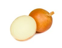 Ripe onion . Royalty Free Stock Photography
