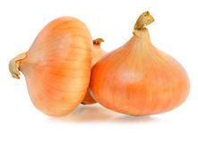 Ripe onions Royalty Free Stock Photos
