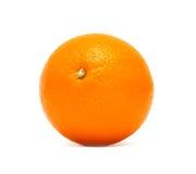 Ripe orange. Fresh ripe orange. Isolated on white Royalty Free Stock Images