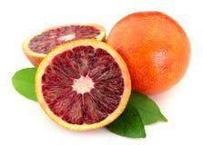 Ripe orange royalty free stock images