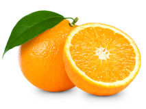 Ripe orange Royalty Free Stock Photo