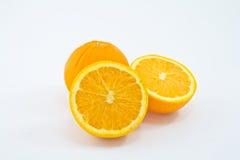 Ripe orange Stock Images