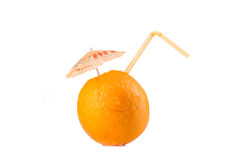 Ripe orange Stock Image