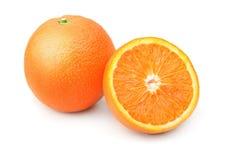 Ripe orange fruits Stock Images
