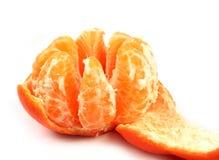 Ripe orange isolated Stock Photo