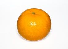 Ripe orange. Isolated on white background Royalty Free Stock Images