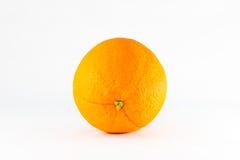 Ripe orange. Ripe orange isolated on white background Stock Image