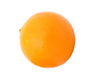 Ripe orange isolated Royalty Free Stock Photos