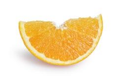 Ripe orange lobule Royalty Free Stock Photo