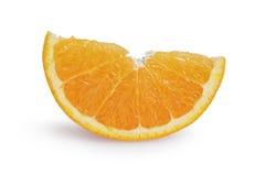 Ripe orange lobule Royalty Free Stock Images