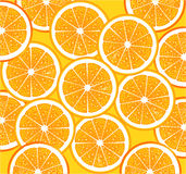 Ripe orange slices Stock Photo