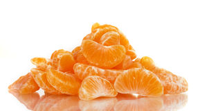 Ripe orange tangerine clove Royalty Free Stock Photography