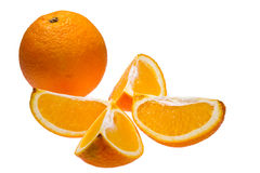 Ripe orange Royalty Free Stock Photos