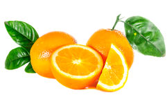 Ripe orange Stock Photo