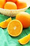 Ripe oranges Stock Photography