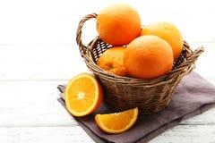 Ripe oranges Royalty Free Stock Images