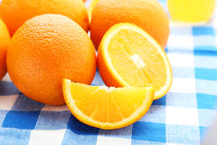 Ripe oranges Royalty Free Stock Photos